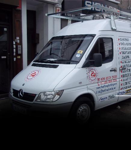 van wrap vinyl livery