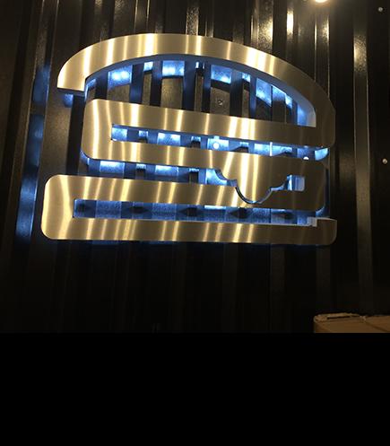 internal wall signs logo shop signs